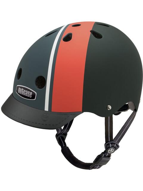 Nutcase Street Helmet Kids, black/red/white